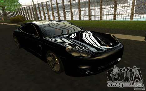 Porsche Panamera Turbo for GTA San Andreas back view