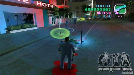 The flowing of the blood for GTA Vice City