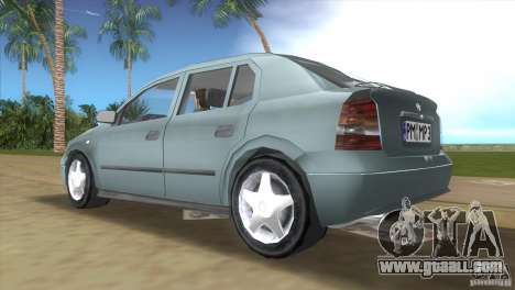 Opel Astra G for GTA Vice City right view