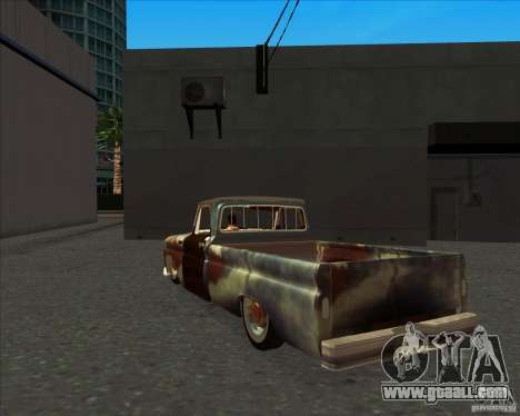 Chevrolet C10 Rat Rod for GTA San Andreas right view