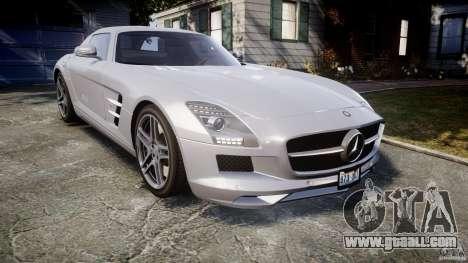 Mercedes-Benz SLS AMG 2010 [EPM] for GTA 4 inner view