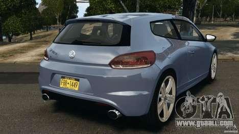 Volkswagen Scirocco R v1.0 for GTA 4 back left view