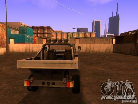 Pickup truck from T3 for GTA San Andreas back left view