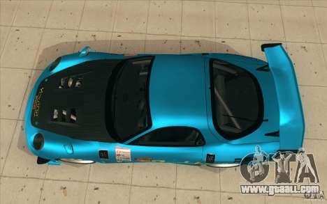 Mazda RX-7 911 Trust for GTA San Andreas right view