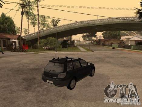 Mitsubishi Outlander 2003 for GTA San Andreas back left view