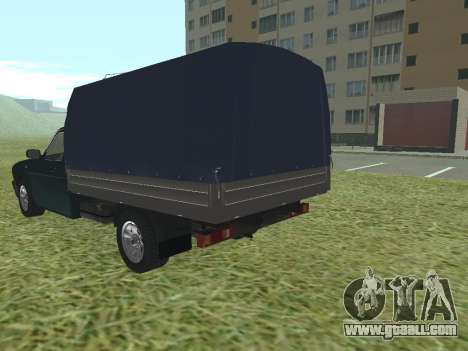GAS 17310 Trofim for GTA San Andreas back left view