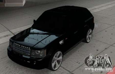 RANGE ROVER SPORT v 2.0 for GTA San Andreas back left view