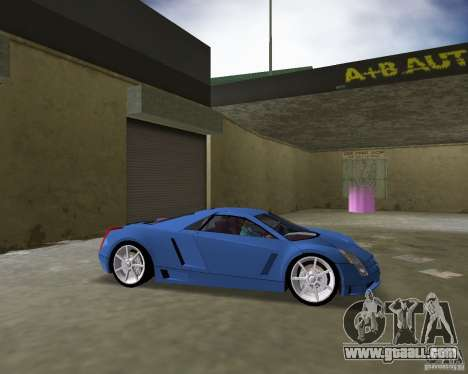 Cadillac Cien for GTA Vice City back left view
