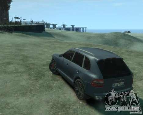 PORSCHE Cayenne turbo S 2009 for GTA 4 left view