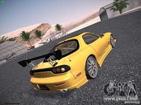 Mazda RX-7 FD3S C-West Custom for GTA San Andreas right view