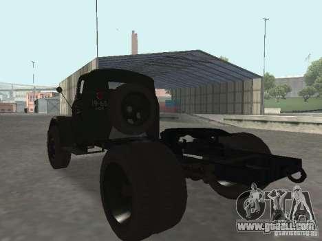 GAZ 51 p for GTA San Andreas left view