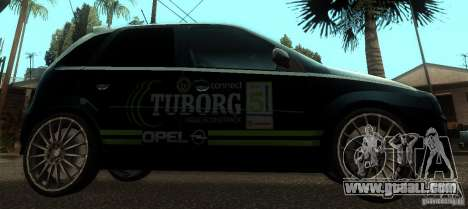 Opel Corsa GSI Rally for GTA San Andreas left view