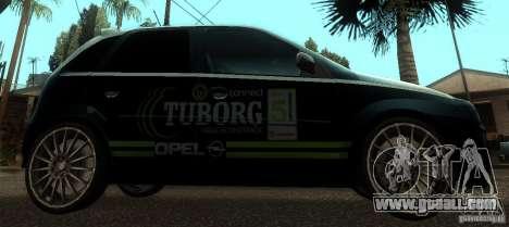 Opel Corsa GSI Rally for GTA San Andreas