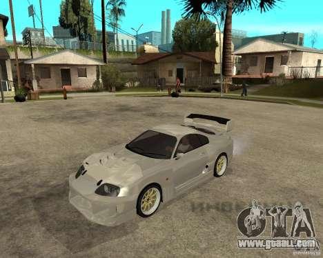 Toyota Supra M4K for GTA San Andreas