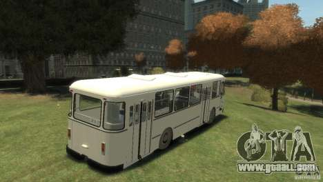 LIAZ 677 for GTA 4 right view