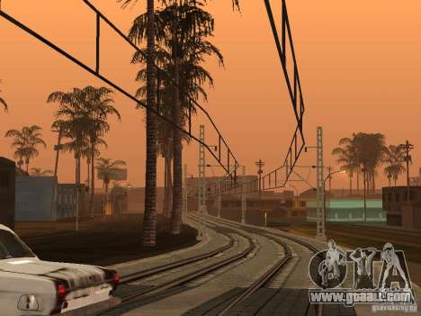High speed RAILWAY line for GTA San Andreas second screenshot