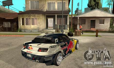 Mazda RX8 NFS Team Mad Mike for GTA San Andreas right view