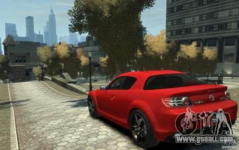 Mazda RX-8 (2006) for GTA 4 back left view