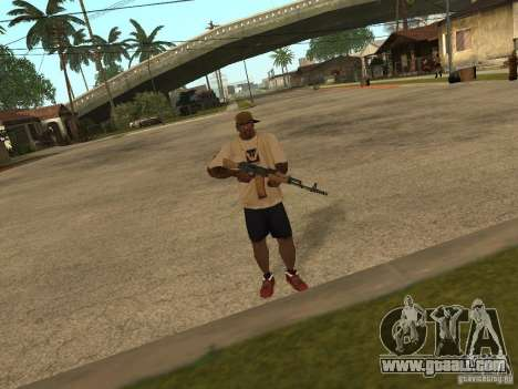 AK-74 of Arma II for GTA San Andreas second screenshot