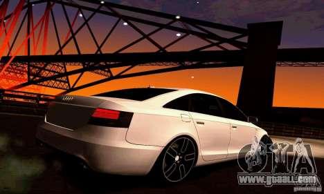 Audi A6 Blackstar for GTA San Andreas right view