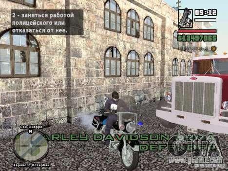 Helmet mod for GTA San Andreas forth screenshot