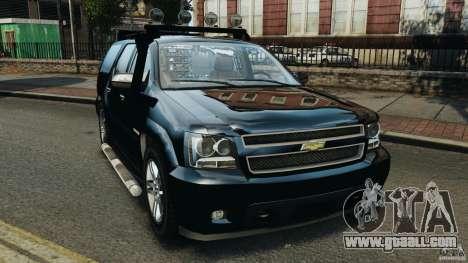 Chevrolet Tahoe LCPD SWAT for GTA 4