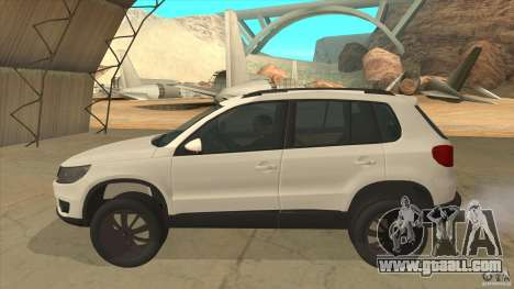 Volkswagen Tiguan 2012 v2.0 for GTA San Andreas left view