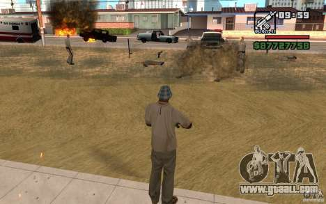 The Threat Of for GTA San Andreas
