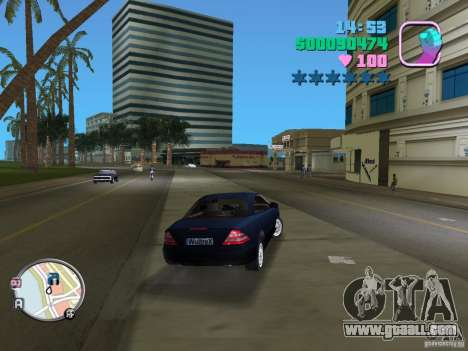 Mercedes-Benz E350 for GTA Vice City back left view