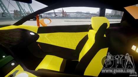 Lamborghini Gallardo Superleggera for GTA 4 inner view