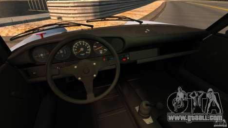 Porsche 911 Carrera RSR 3.0 Coupe 1974 for GTA 4 back view