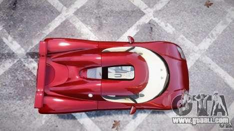 Koenigsegg CCRT for GTA 4 back left view