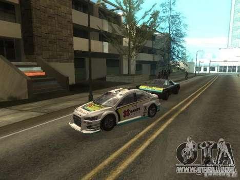 Mitsubishi Lancer Evo X Trailblazer Dirt2 for GTA San Andreas