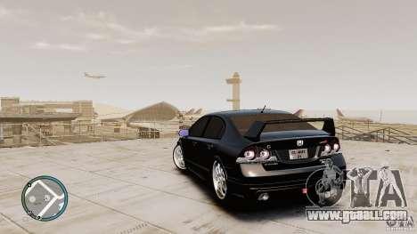 Honda Civic Mugen RR for GTA 4 back left view