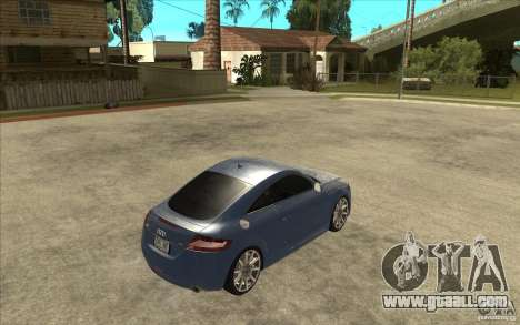 Audi TT 3.2 Coupe for GTA San Andreas right view