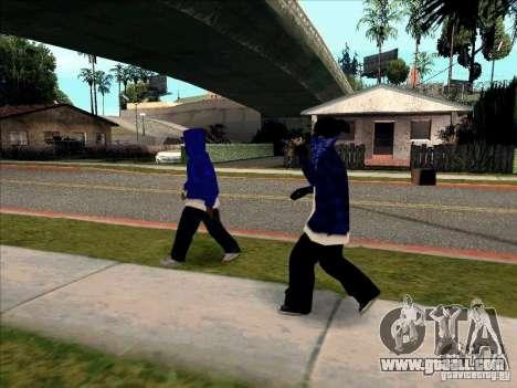 Crips Gang for GTA San Andreas fifth screenshot