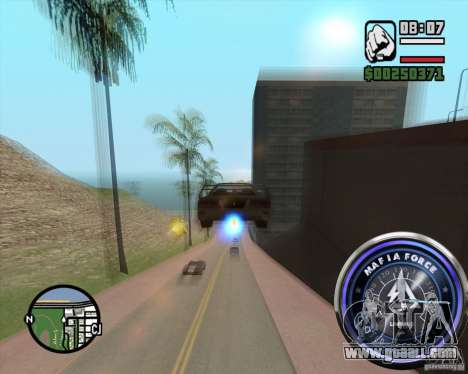Speedometer-2 for GTA San Andreas second screenshot