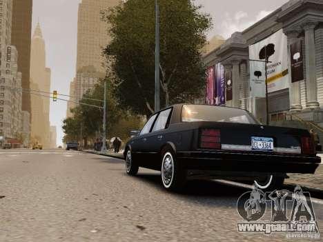 Oldsmobile Cutlass Ciera 1993 for GTA 4 right view