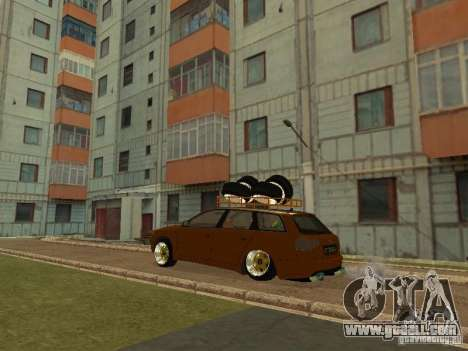 Audi A4 Avant 2005 JDM Style for GTA San Andreas right view
