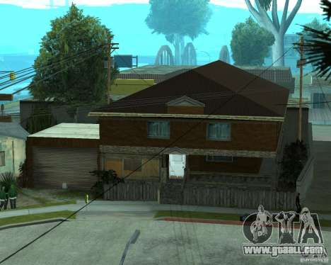 New home CJâ for GTA San Andreas fifth screenshot