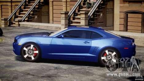 Chevrolet Camaro v1.0 for GTA 4 left view