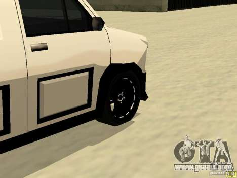 Burrito by W1nstoN for GTA San Andreas back view