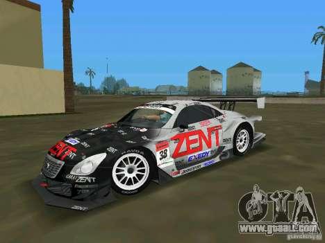 Lexus SC430 GT for GTA Vice City left view
