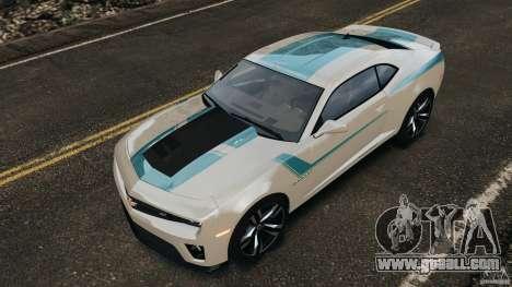 Chevrolet Camaro ZL1 2012 v1.2 for GTA 4 wheels