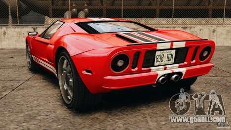 Ford GT 2005 v1.0 for GTA 4 back left view
