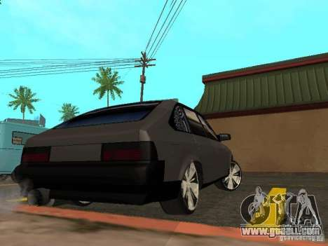 AZLK-2141 Tuning for GTA San Andreas back left view