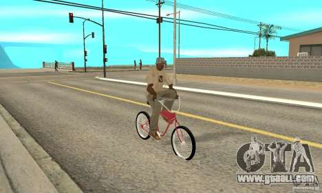 Classic Bike for GTA San Andreas right view