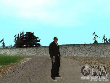 CJ Mafia Skin for GTA San Andreas second screenshot