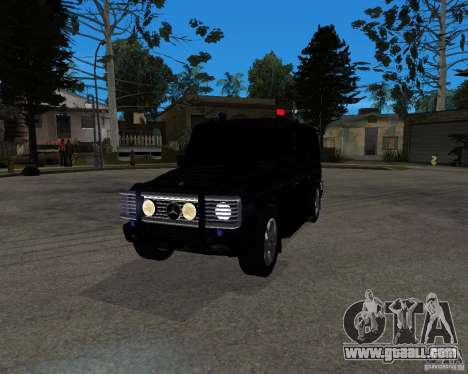 Mercedes-Benz AMG G55 (W463) 2008 SE for GTA San Andreas