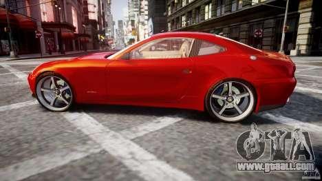 Ferrari 612 Scaglietti custom for GTA 4 left view